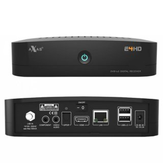 Axas E4HD Linux E2 HbbTV USB Full HD 1080p Sat Receiver