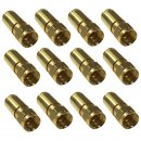 16x F-Kompressionsstecker High Quality Ø 8mm –...