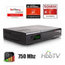 Octagon SF8 HD USB Full HD E2 Linux Sat Receiver Schwarz