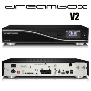 DreamBox DM7020 V2 HD PVR HDTV 1x DVB-S2 Sat 1x DVB-C/T Tuner Combo