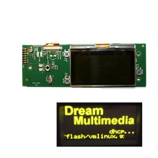 DreamBox Display OLED mit Platine für DM7025+ Plus