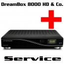 DreamBox 8000 HD & CloneBox Service