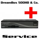 DreamBox 500HD & ClonBox Service