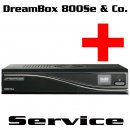 DreamBox 800 & CloneBox Reparatur Service
